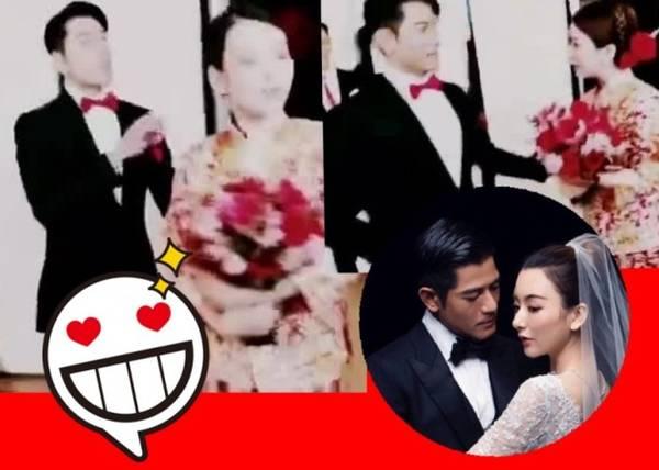 郭富城婚礼短片流出