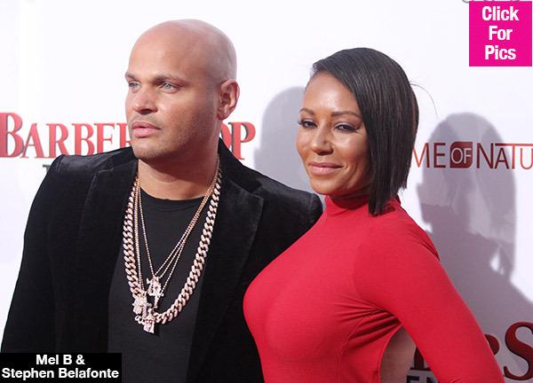 梅尔B与丈夫