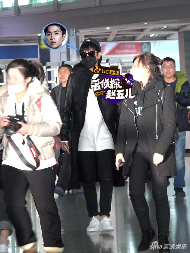 张若昀现身机场,穿搭时尚,墨镜口罩帽子全副武装