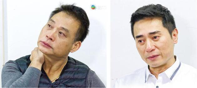 郑家生(左图)与欧瑞伟(右图)想起目睹好友曾守明离世,伤心眼红红