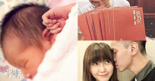 吴若希女儿正脸疑曝光 气色红润头发浓密闭眼甜睡