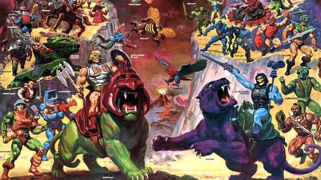 《希曼》根据80年代同名动画和玩具改编