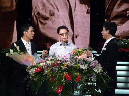 朱军、吴刚曾在《艺术人生》同台
