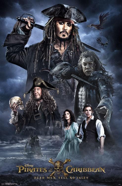 《加勒比海盗5》海报