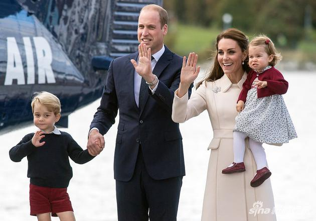 威廉王子一家人