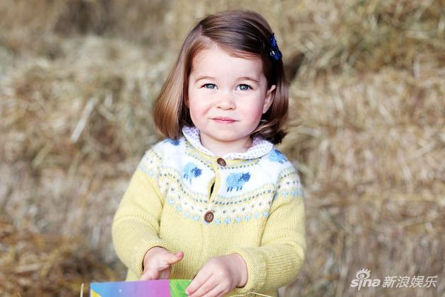 小公主夏洛特近照