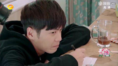 张若昀把《花少》录成了属于个人的《变形计》