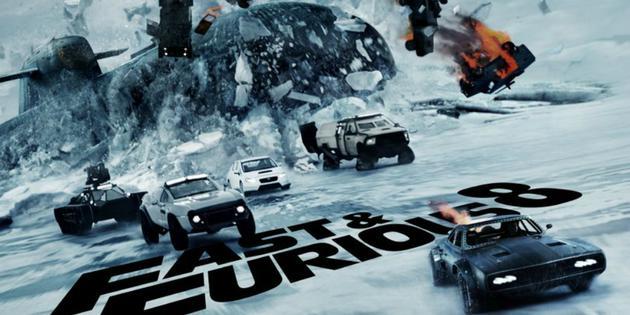北美票房综述:《速度与激情8》三周连冠 全球破十