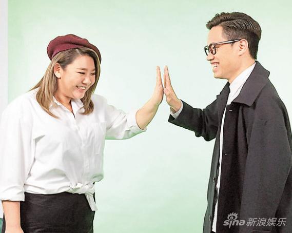 郑欣宜宣传新片主题曲 与李拾壹对戏常笑场