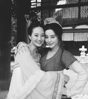 张钧甯和范冰冰因《武媚娘传奇》结缘