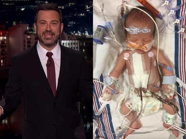 儿子出生3天动心脏手术 吉米坎摩尔硬咽还原经过