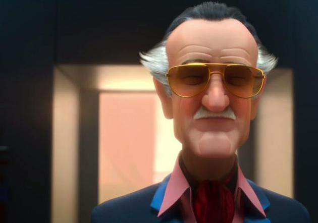 《超能陆战队》的老爷子的形象