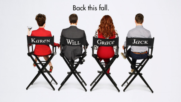 经典情景喜剧《威尔和格蕾丝》回归!