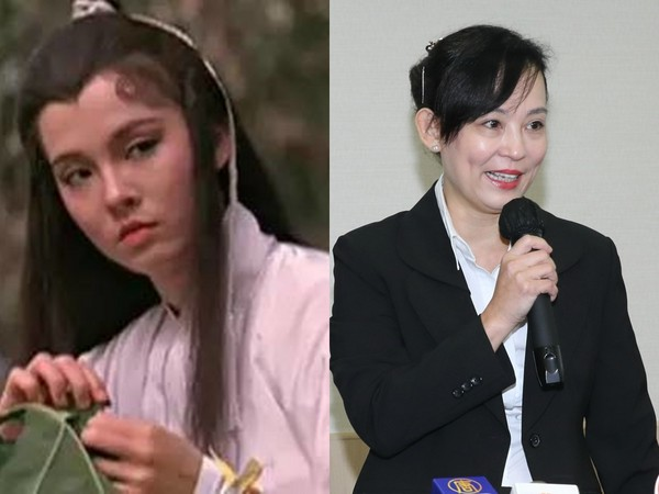 """翁静晶从""""小龙女""""变金牌律师。"""