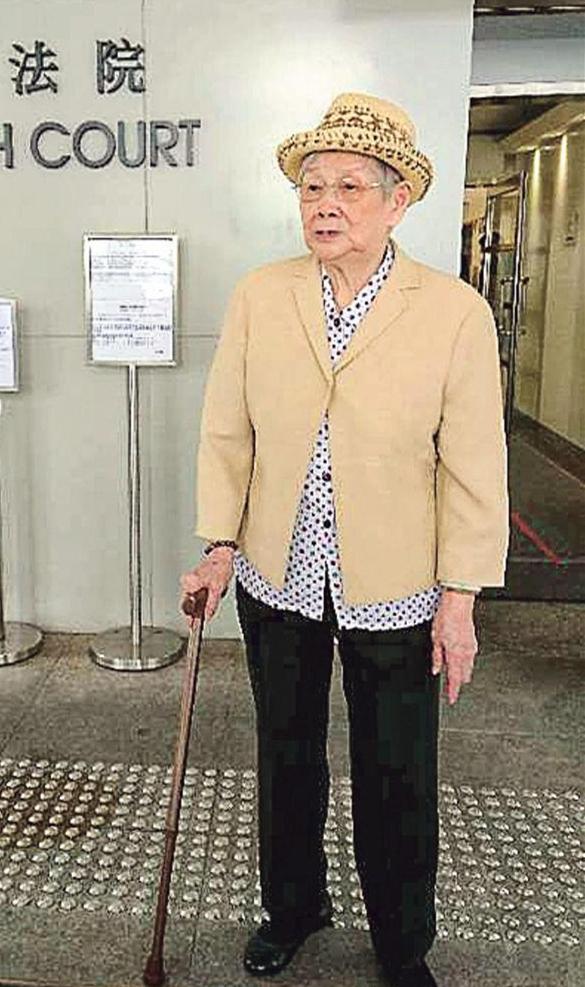 梅艳芳母亲欠债12万面临再破产 称有些人好阴毒