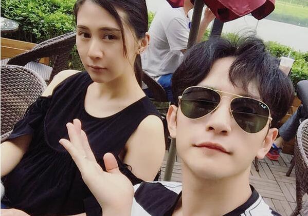 刘洲成与妻子