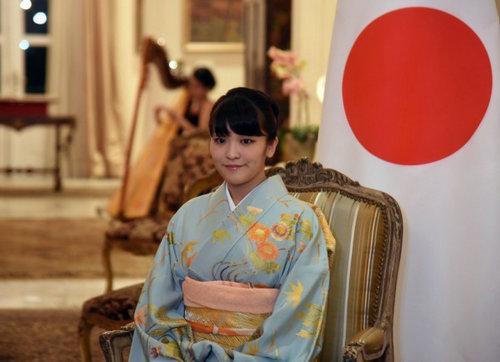 资料图片:秋筱宫文仁亲王的长女、今年25岁的真子公主。(法新社)