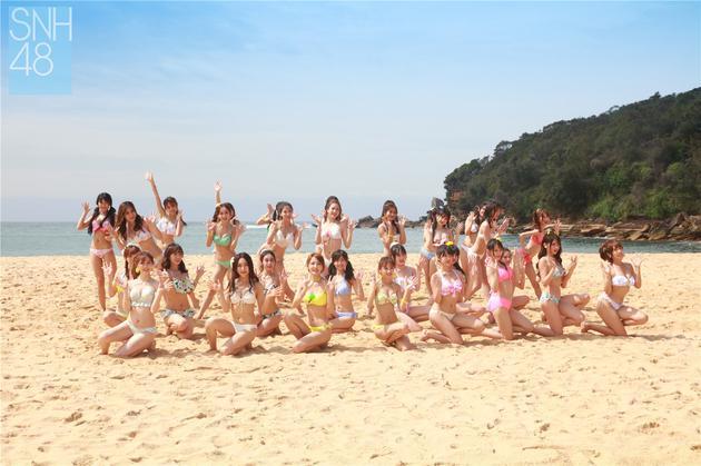 SNH48、BEJ48、GNZ48、SHY48 四团