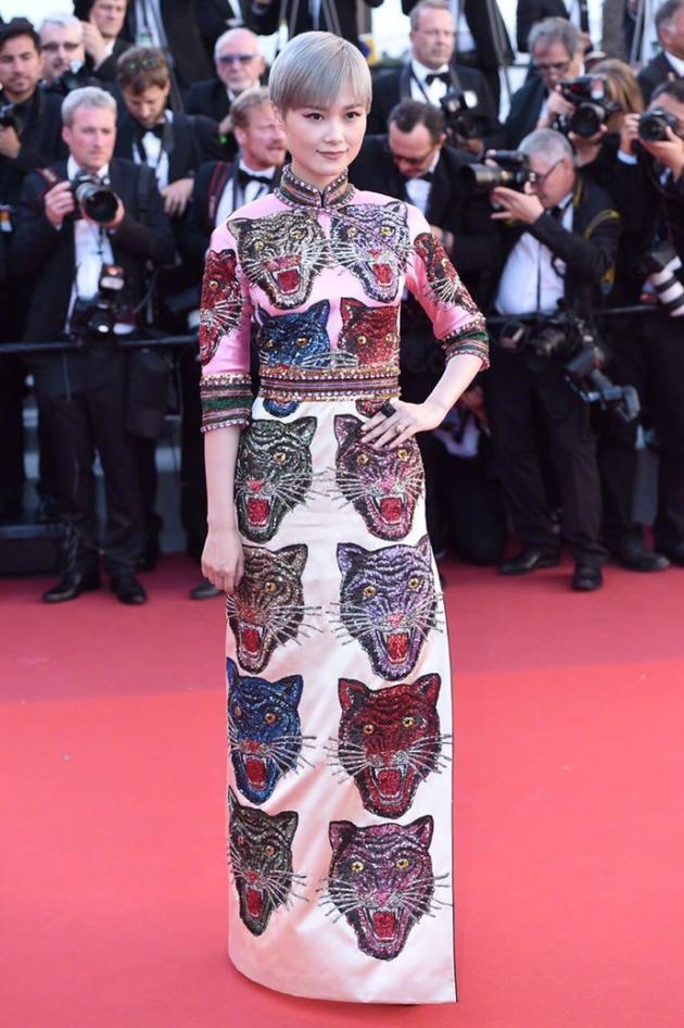 Vogue美国官网盛赞李宇春:戛纳最敢穿的面孔