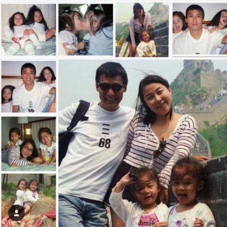 梁家辉迎接结婚30年纪念日 双胞胎女儿:爱着你们