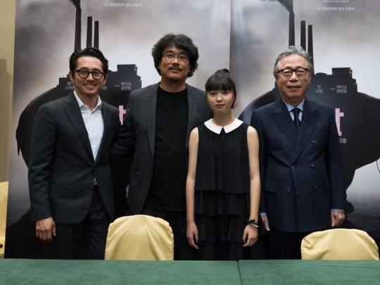 奉俊昊《玉子》或无法韩国上映 被三大院线抵制