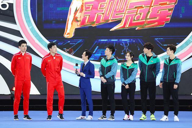 《冠军》贾乃亮驾飞车 上演速度与激情决战刘翔