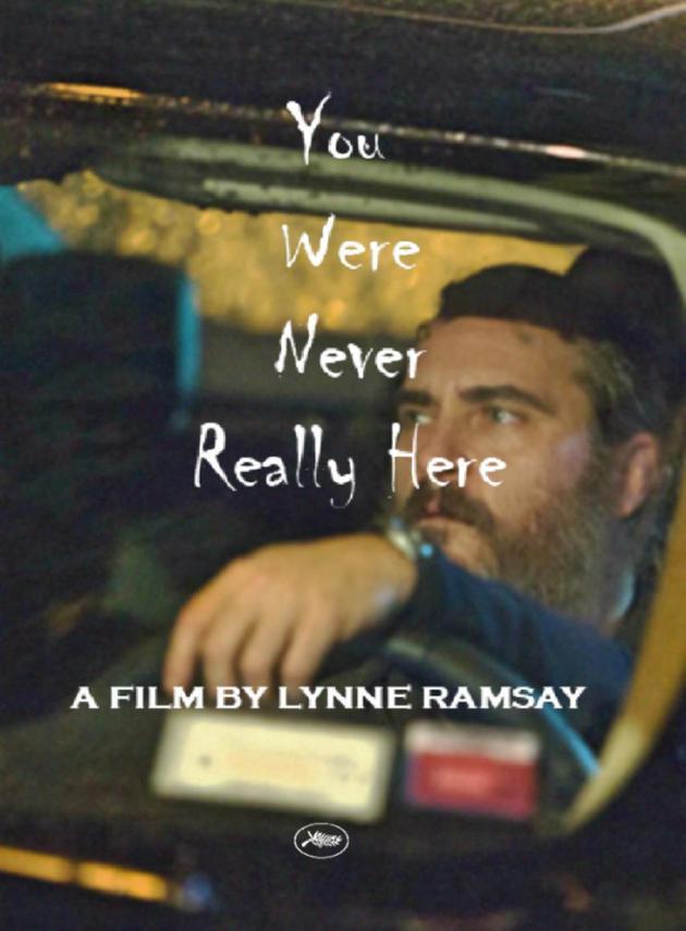 《你从未在此》海报