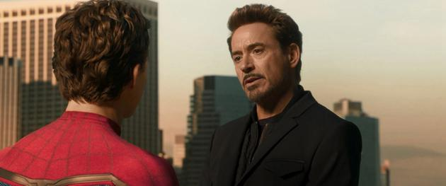 唐尼在《蜘蛛侠:英雄归来》中