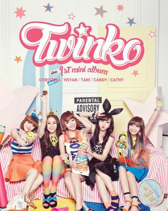 台湾女团Twinko
