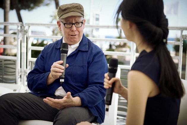 世界顶尖制片人James Schamus接受媒体采访