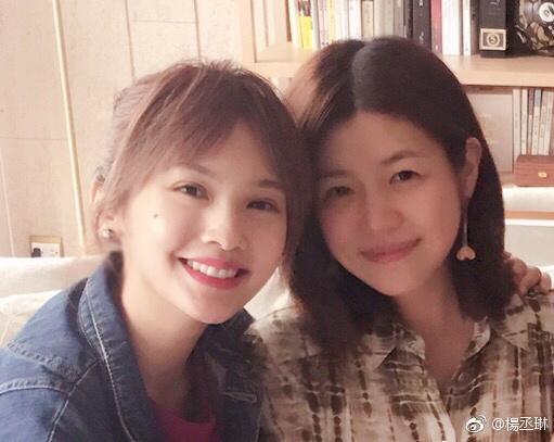 杨丞琳为陈妍希庆生