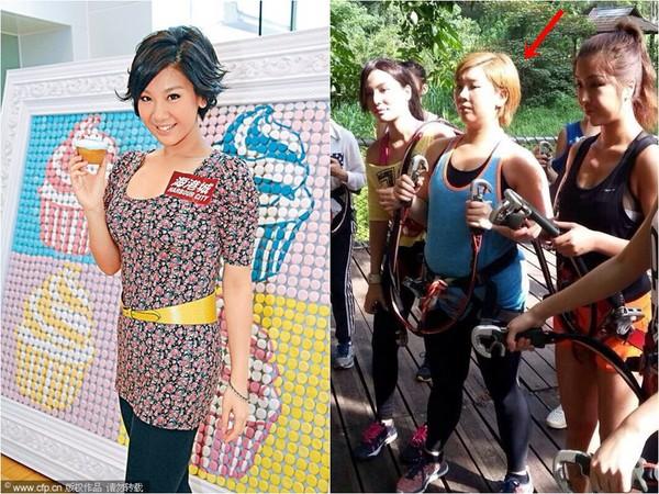 郑欣宜曾瘦到51公斤后来反弹