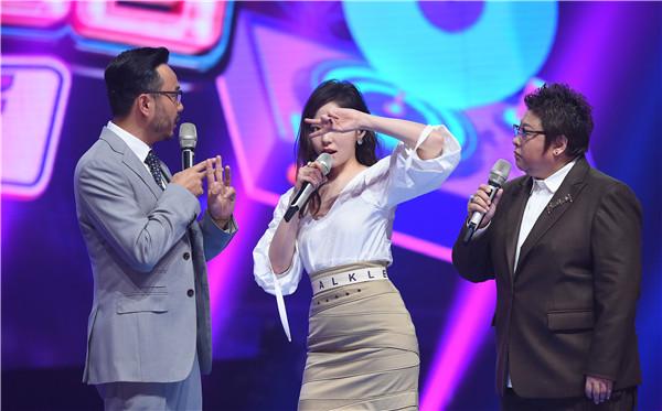 《和你唱》张靓颖歌迷超专业 韩红大赞为其鼓掌