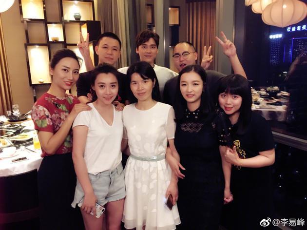 李易峰与同学聚会