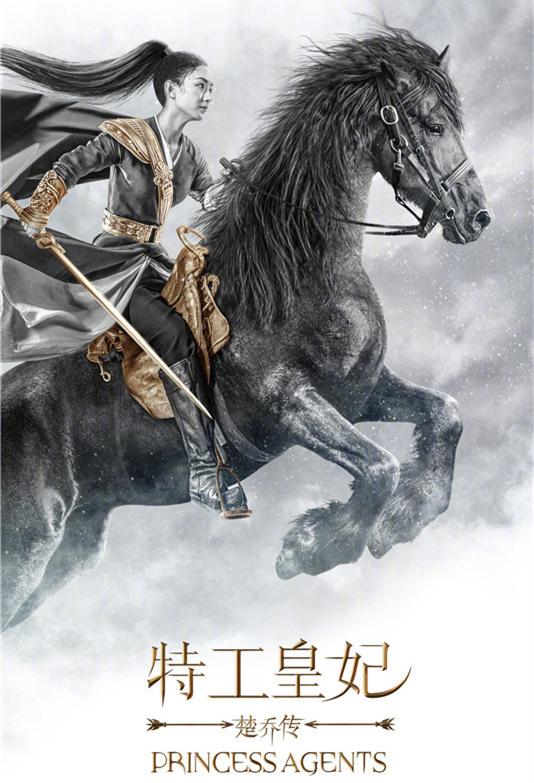 电视剧《楚乔传》海报