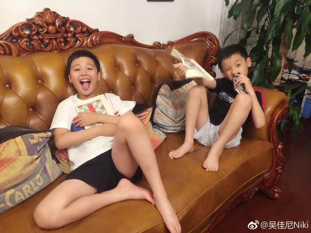 马景涛两个儿子