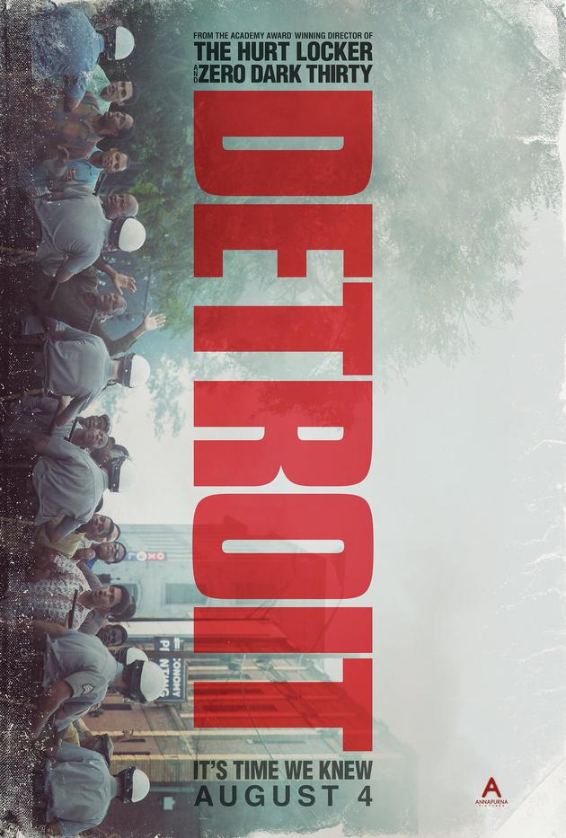 奥斯卡金奖女导演新作《底特律暴动》发布预告片