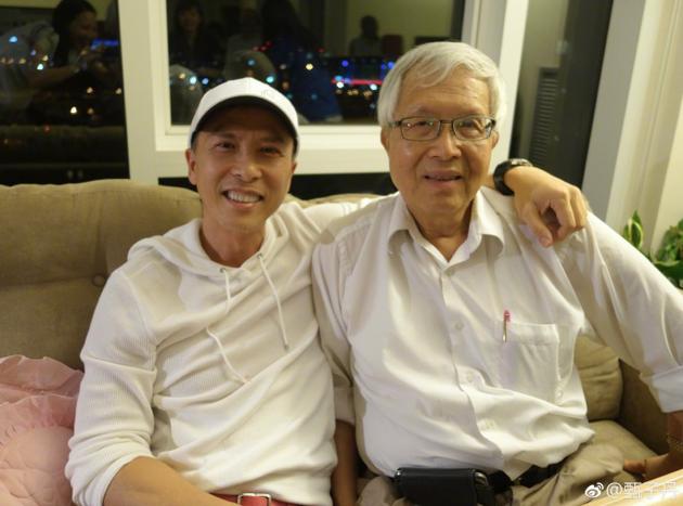 甄子丹和父亲