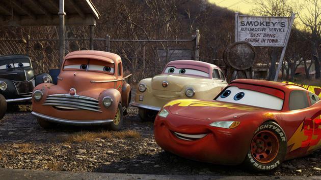 北美票房:《赛车总动员3》上映力压《神奇女侠》