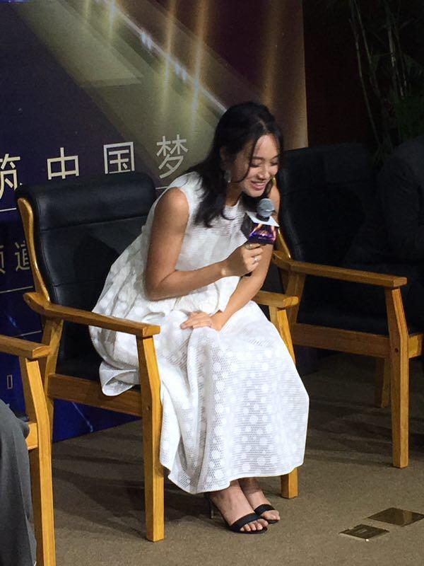 朱丹录制节目现场承认怀孕:TA接受了最好的胎教