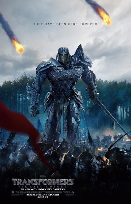 《变形金刚5:最后的骑士》海报