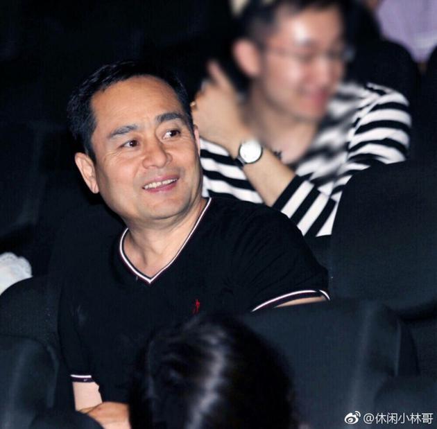 杨幂老爸现身支持女儿电影
