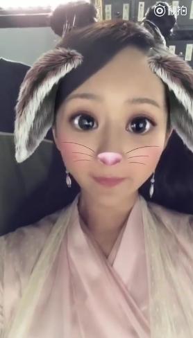 杨紫卖萌变身萌宠录视频 抱怨拍戏太累:蛮饿的说