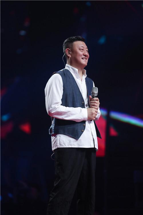 韩磊放高音大招 韩红:我也有唱不上去的时候