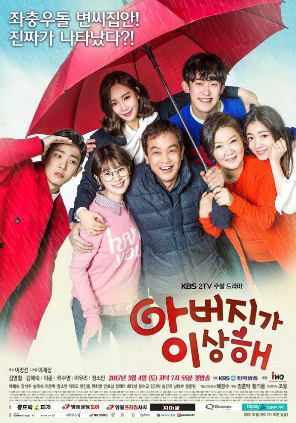 韩剧收视:《爸爸》刷新收视 金在中新剧遇冷