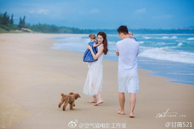 贾跃亭妻子甘薇定位乐视发博:全家老小都在北京