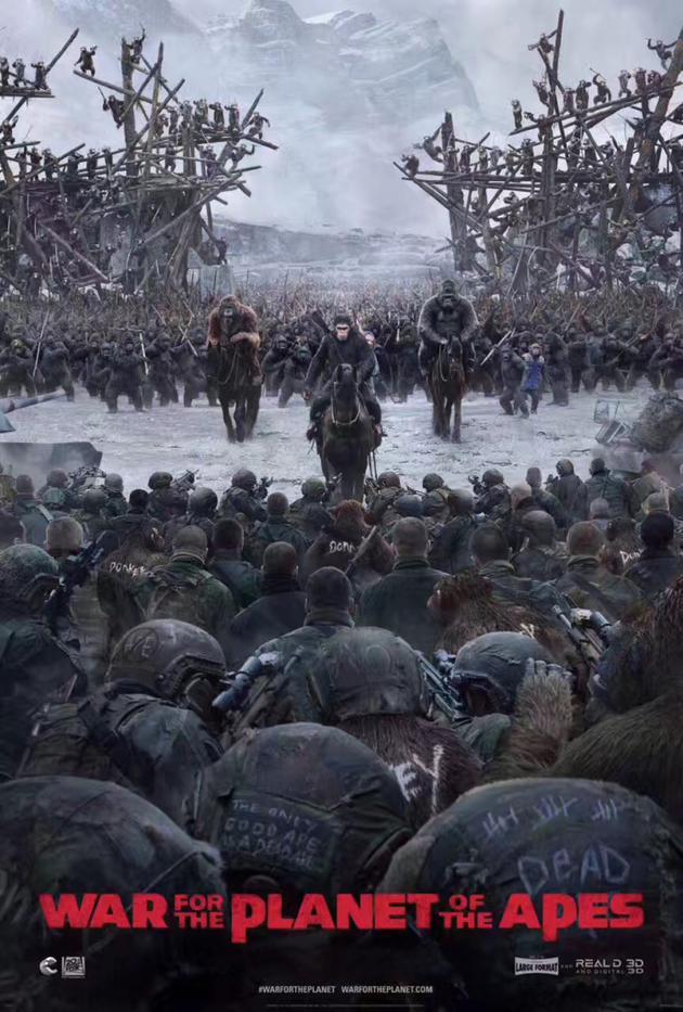 《猩球崛起3》追忆凯撒成长史 传奇猩族领袖归来