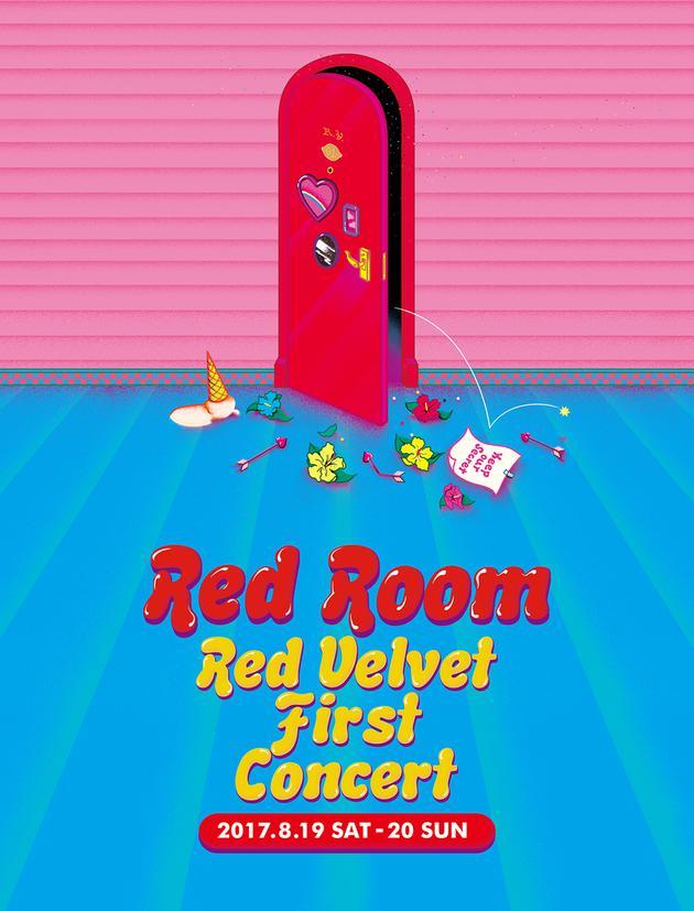 RedVelvet演唱会海报