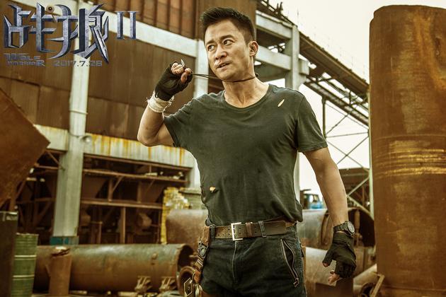 《战狼2》曝开战版预告 吴京与美队反派徒手格斗