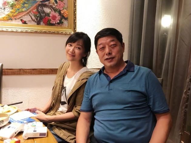 徐静蕾和张继科爸爸